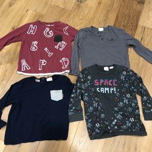 Zara Shirts & Tops - Zara Bundle of 11 long sleeve shirts 3-4 years